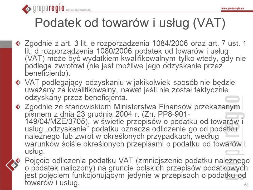Podatek od towarów i usług (VAT)