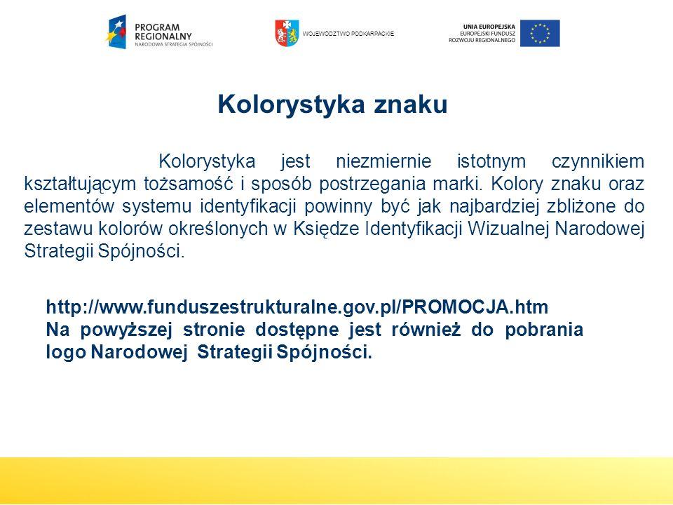 Kolorystyka znaku http://www.funduszestrukturalne.gov.pl/PROMOCJA.htm