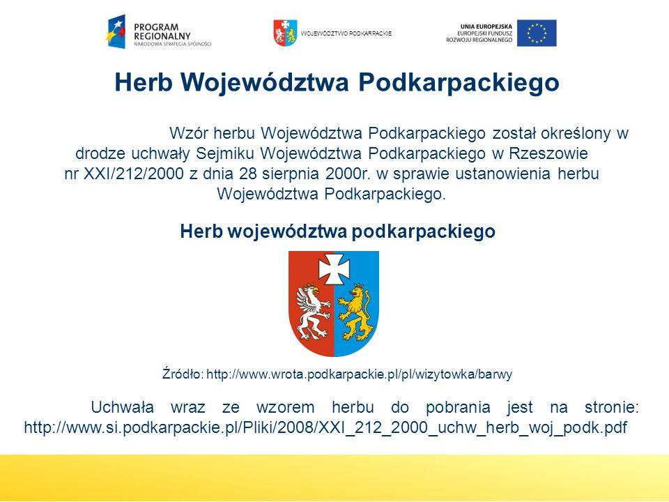 Herb województwa podkarpackiego
