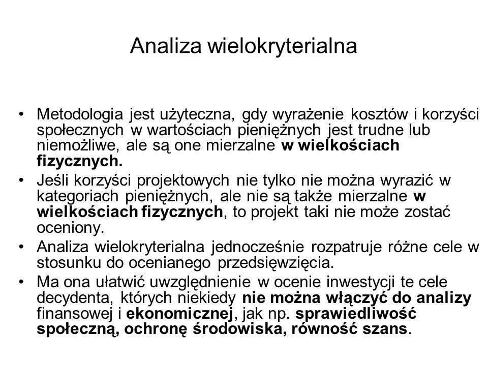 Analiza wielokryterialna