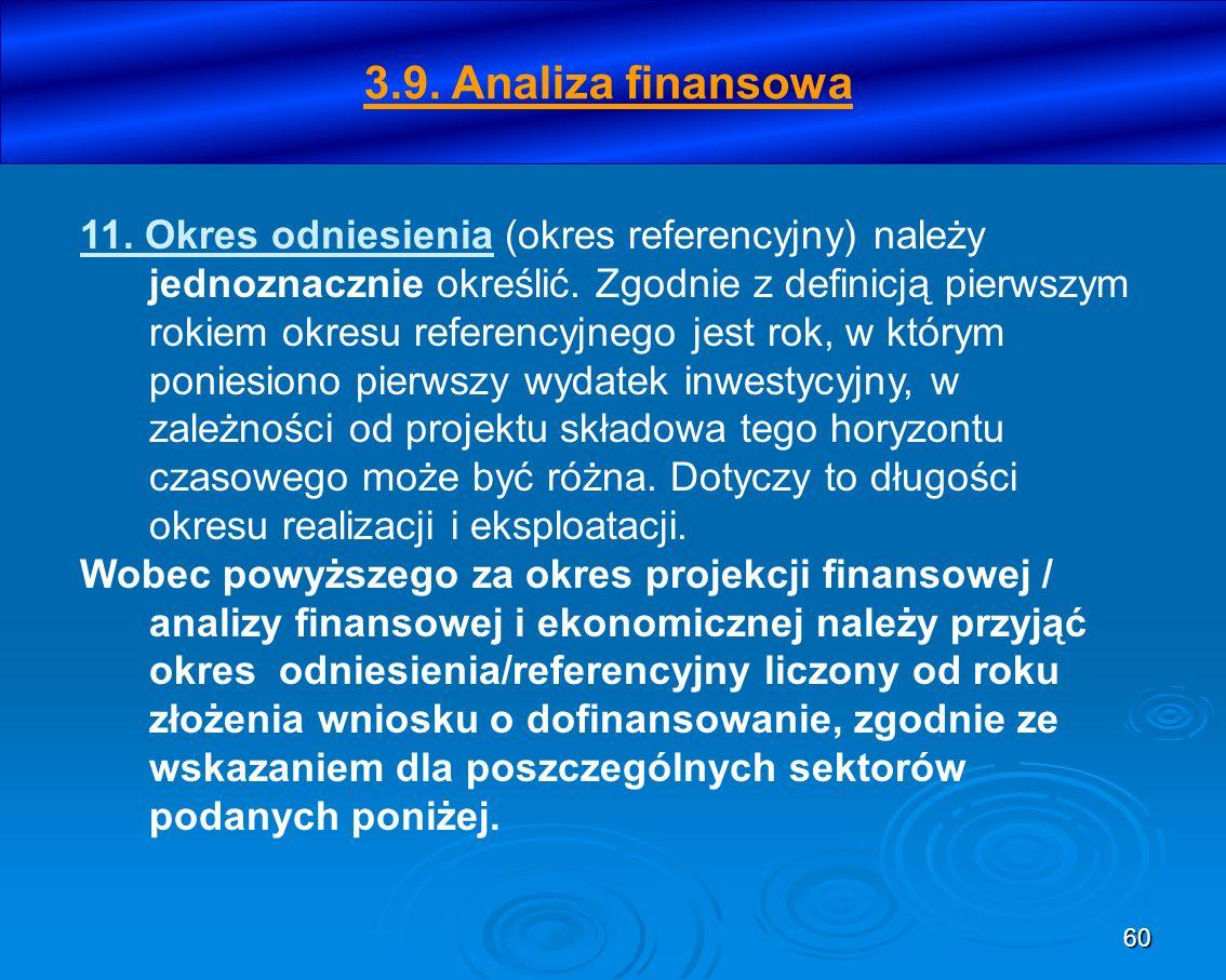 3.9. Analiza finansowa