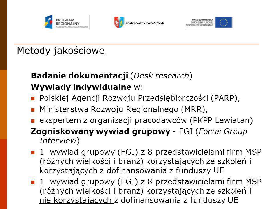 Metody jakościowe Badanie dokumentacji (Desk research)