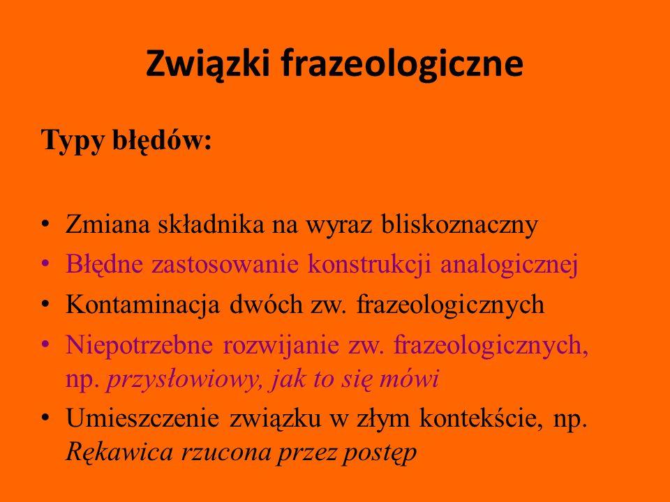 Związki frazeologiczne