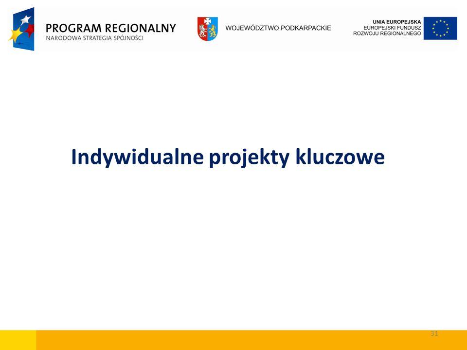 Indywidualne projekty kluczowe