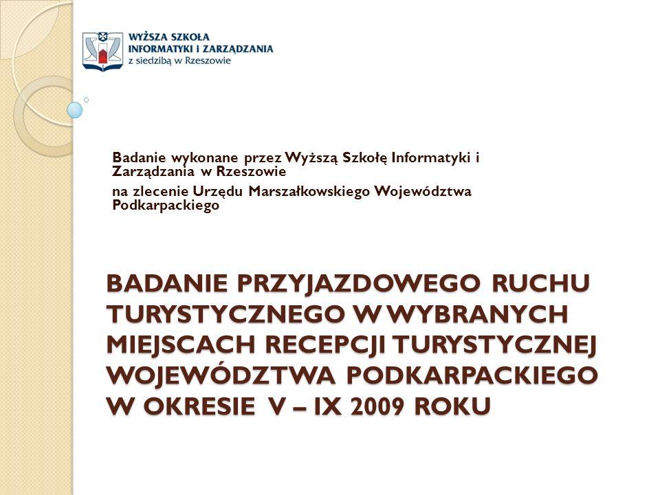 Badanie wykonane przez Wyższą Szkołę Informatyki i Zarządzania w Rzeszowie. na zlecenie Urzędu Marszałkowskiego Województwa Podkarpackiego.