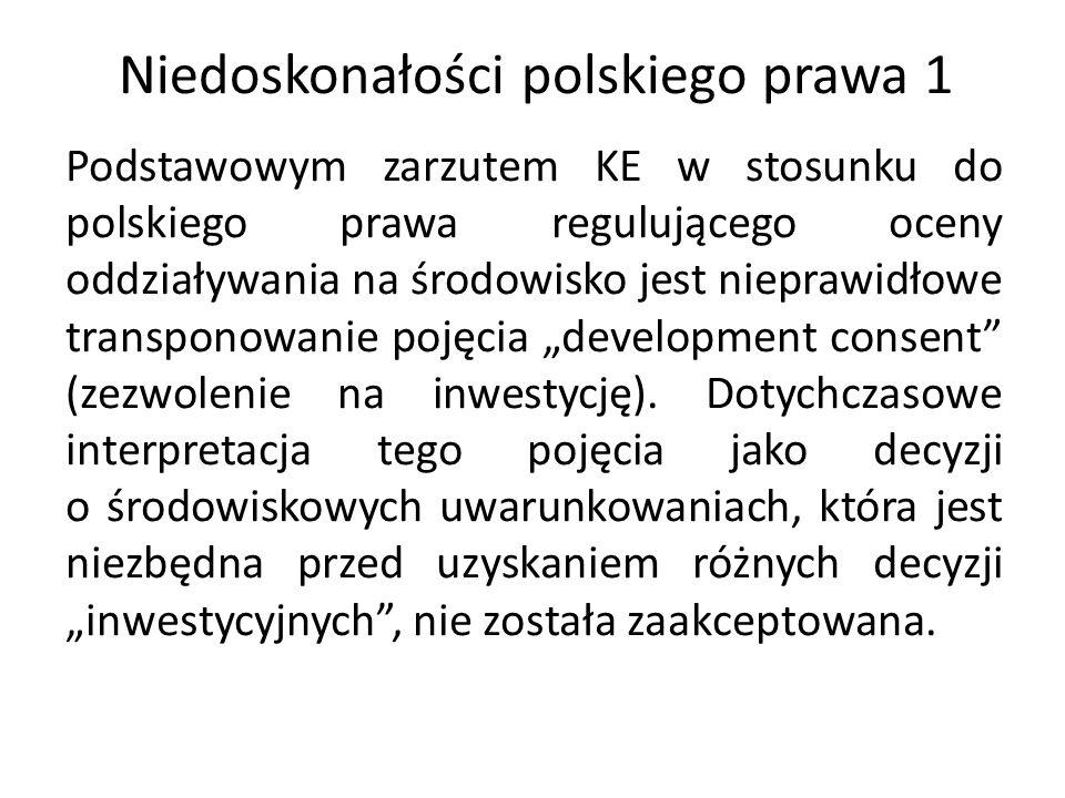 Niedoskonałości polskiego prawa 1
