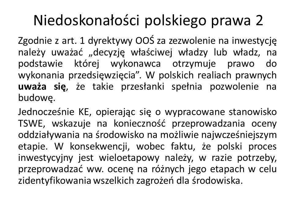 Niedoskonałości polskiego prawa 2