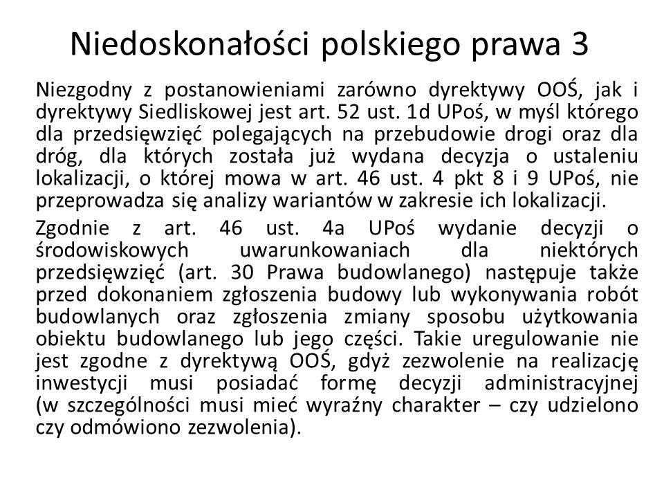 Niedoskonałości polskiego prawa 3