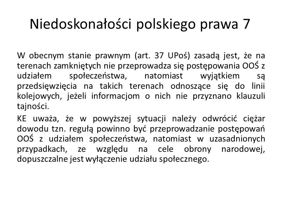 Niedoskonałości polskiego prawa 7