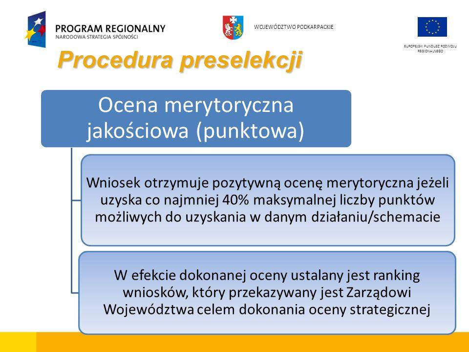 Procedura preselekcji