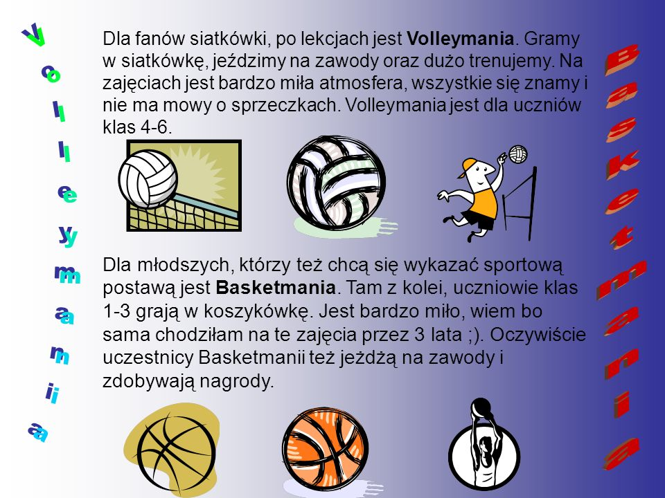 Volleymania Basketmania