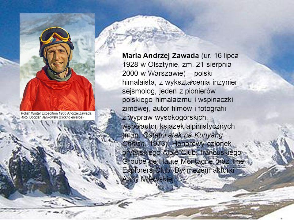 Maria Andrzej Zawada (ur. 16 lipca 1928 w Olsztynie, zm