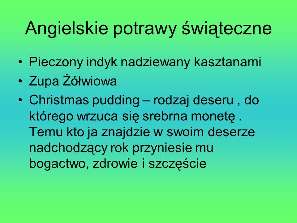 Angielskie potrawy świąteczne