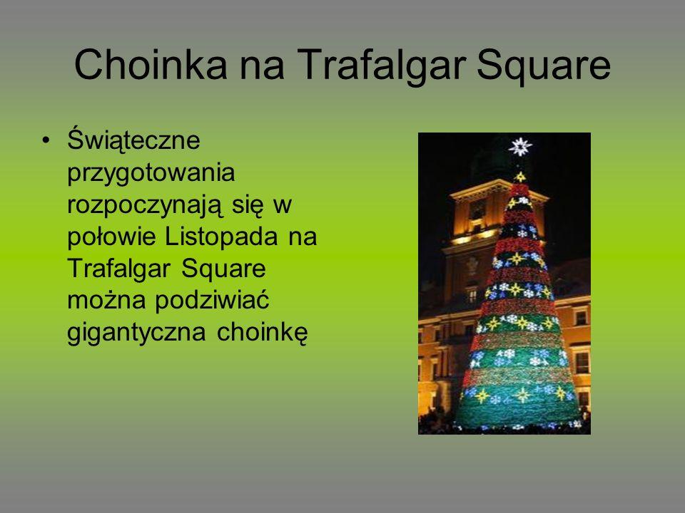 Choinka na Trafalgar Square
