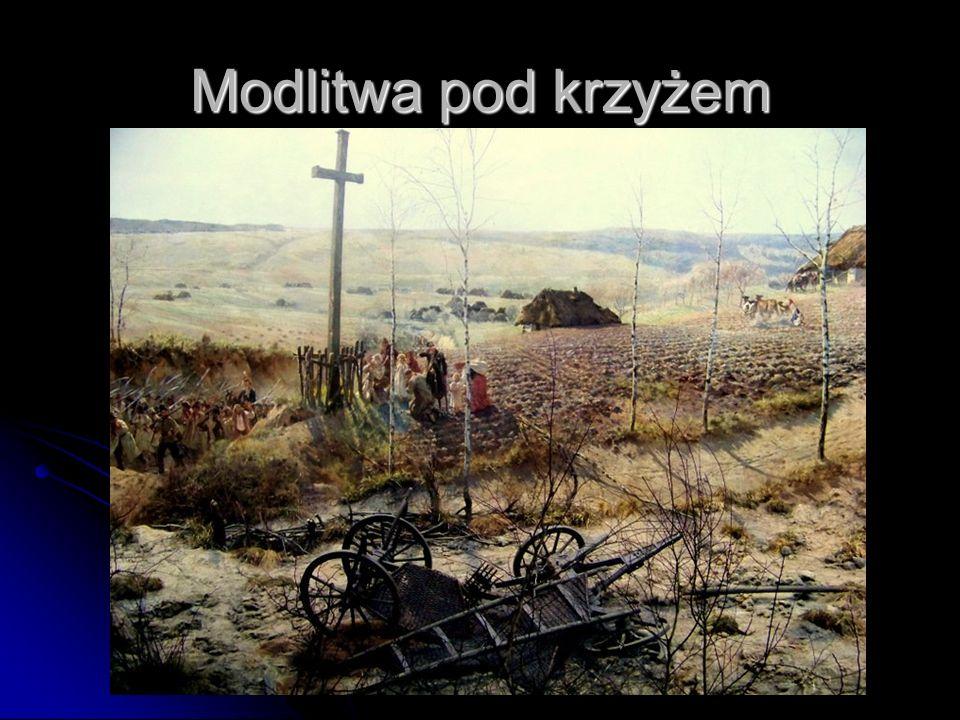 Modlitwa pod krzyżem