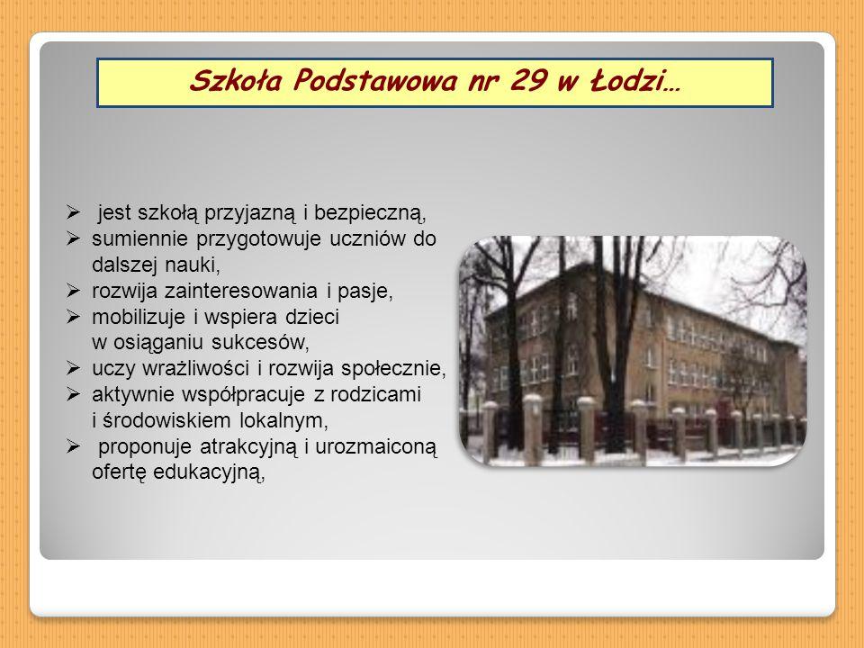 Szkoła Podstawowa nr 29 w Łodzi…