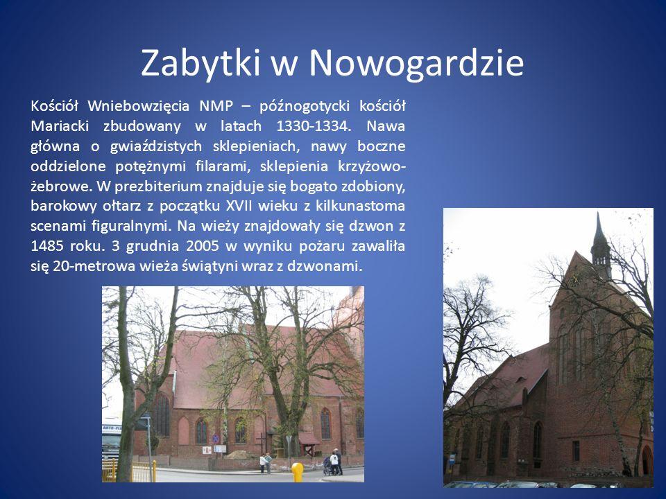 Zabytki w Nowogardzie