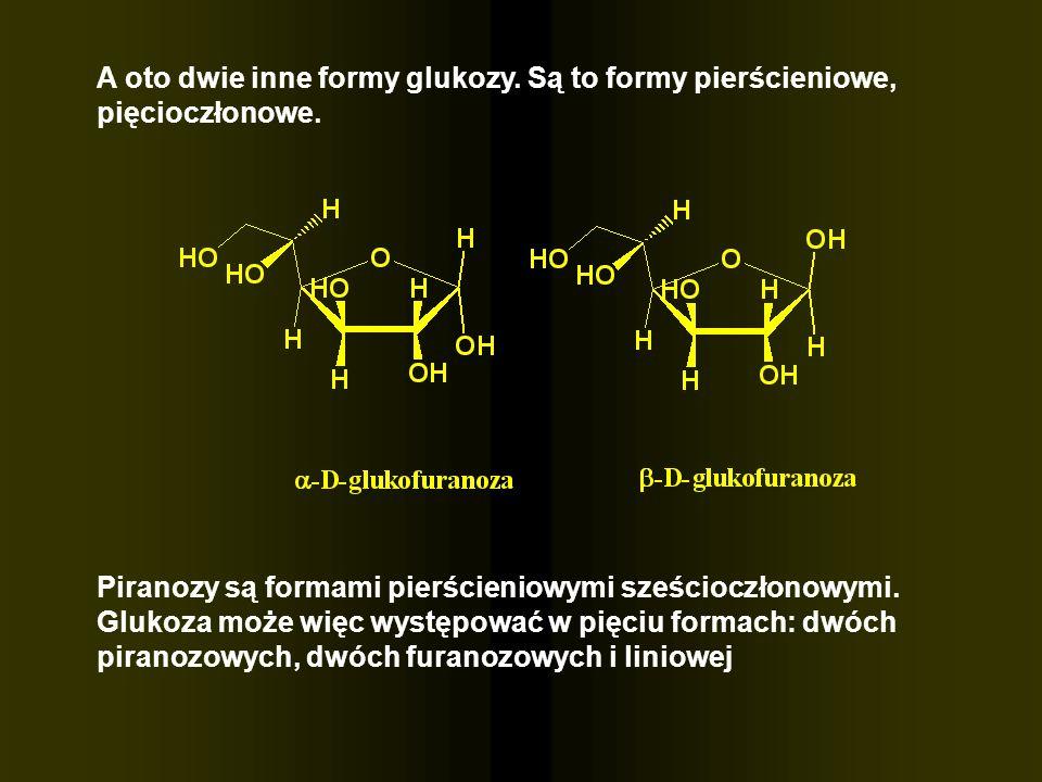 A oto dwie inne formy glukozy