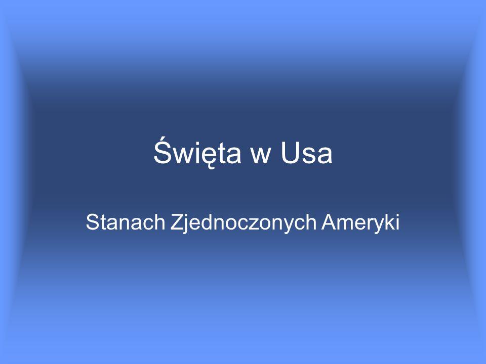 Stanach Zjednoczonych Ameryki