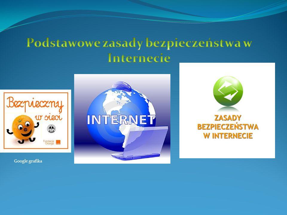 Podstawowe zasady bezpieczeństwa w Internecie