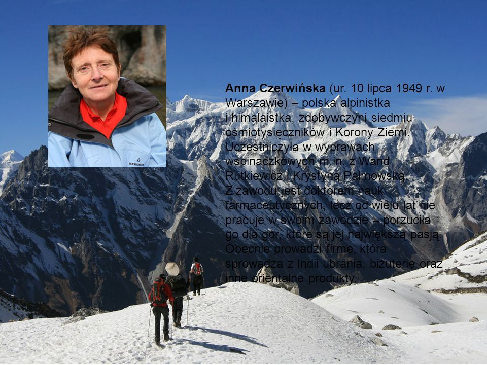 Anna Czerwińska (ur. 10 lipca 1949 r