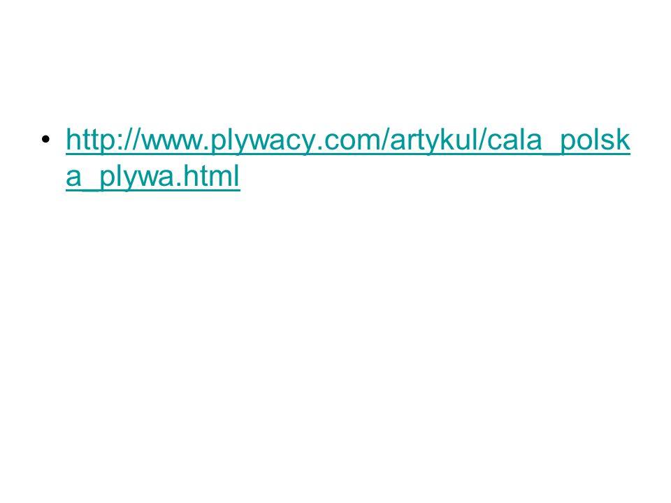 http://www.plywacy.com/artykul/cala_polska_plywa.html