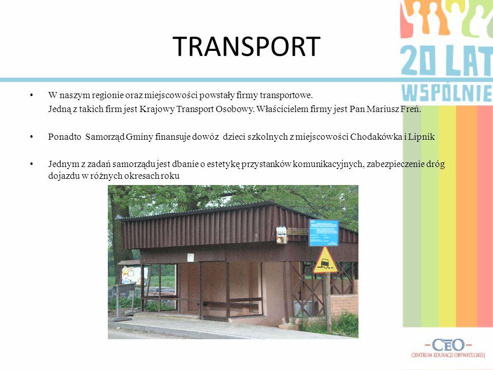 TRANSPORT W naszym regionie oraz miejscowości powstały firmy transportowe.