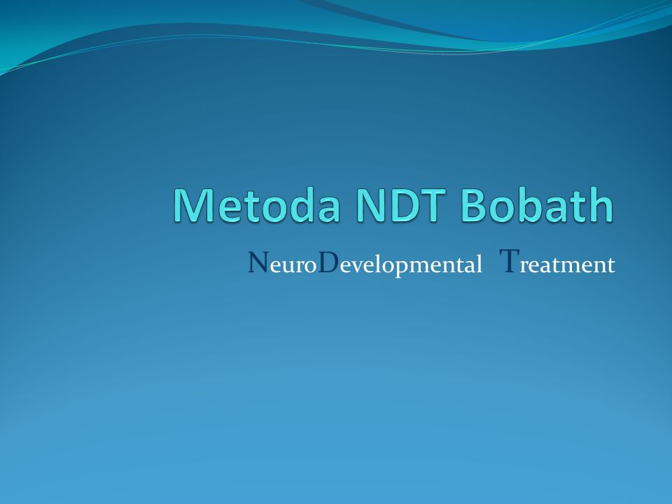 NeuroDevelopmental Treatment