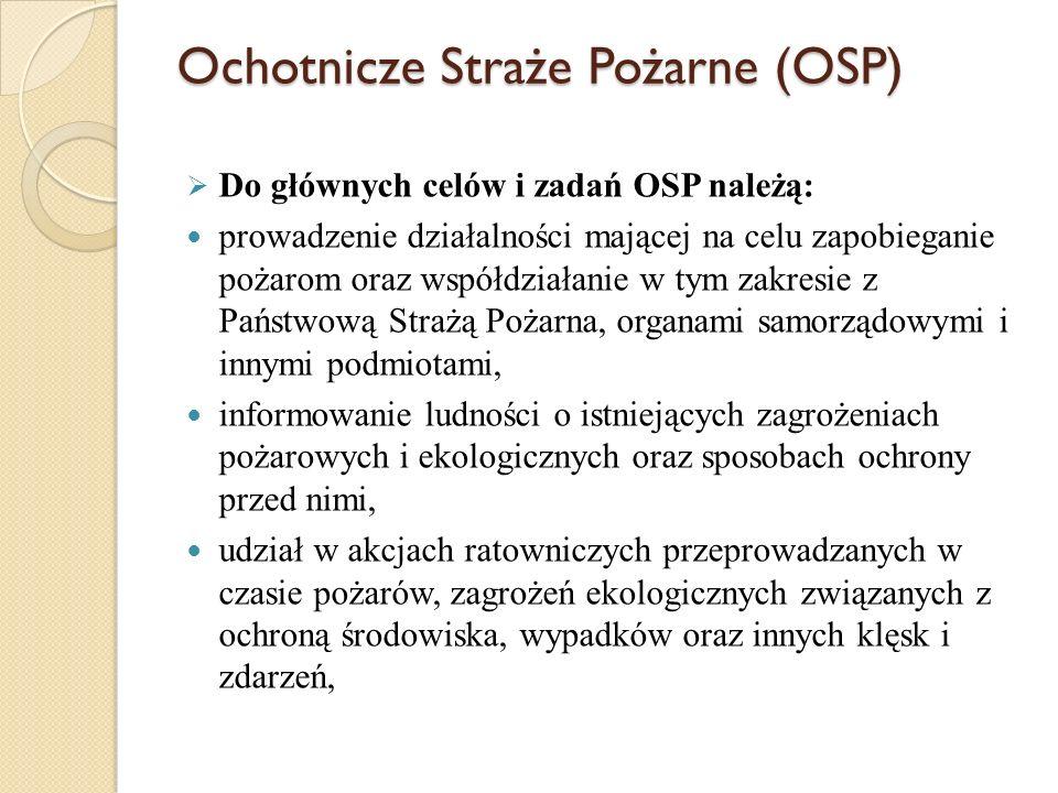 Ochotnicze Straże Pożarne (OSP)