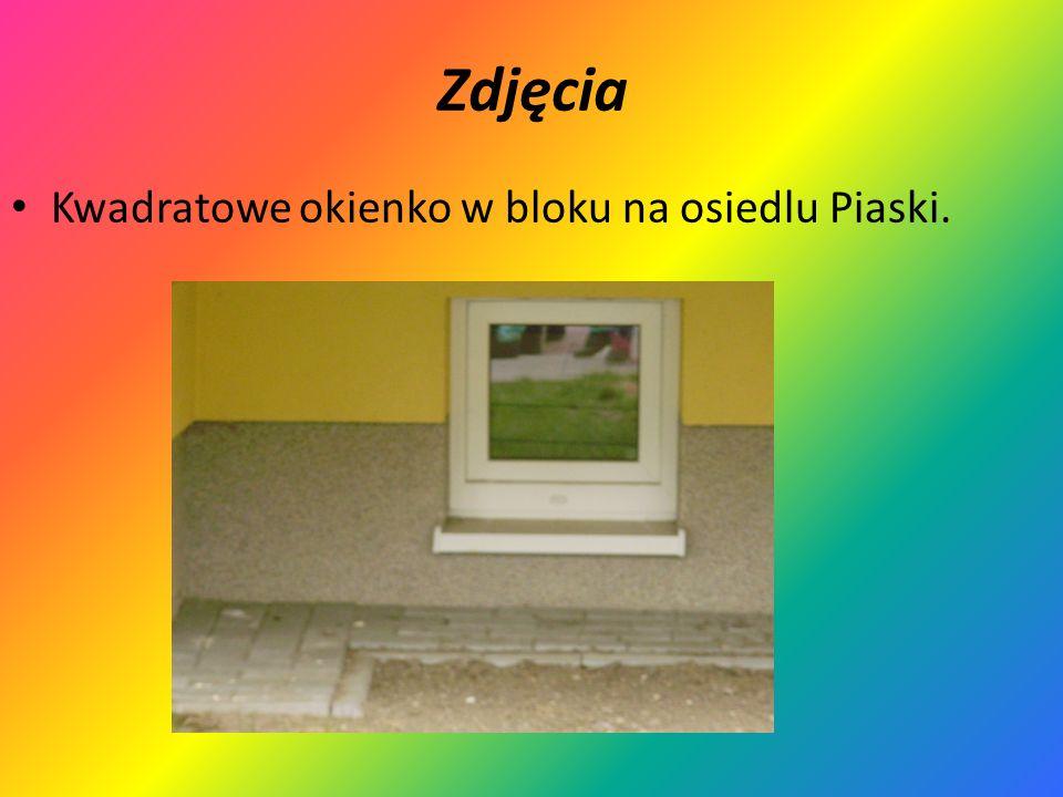 Zdjęcia Kwadratowe okienko w bloku na osiedlu Piaski.