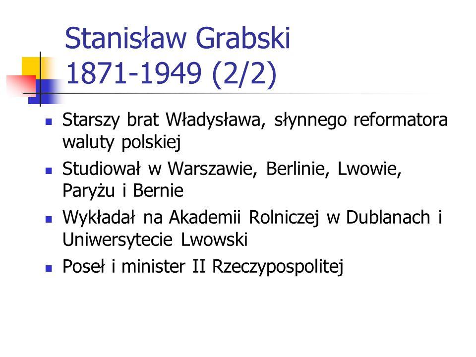 Stanisław Grabski 1871-1949 (2/2)