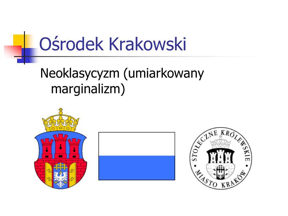 Ośrodek Krakowski Neoklasycyzm (umiarkowany marginalizm)
