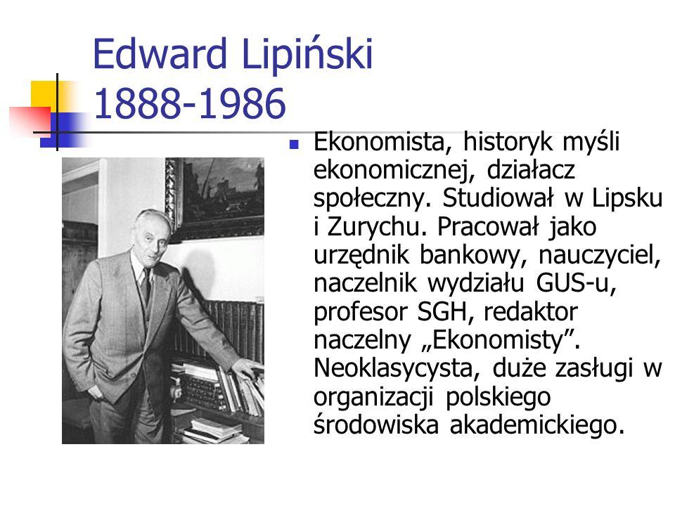 Edward Lipiński 1888-1986