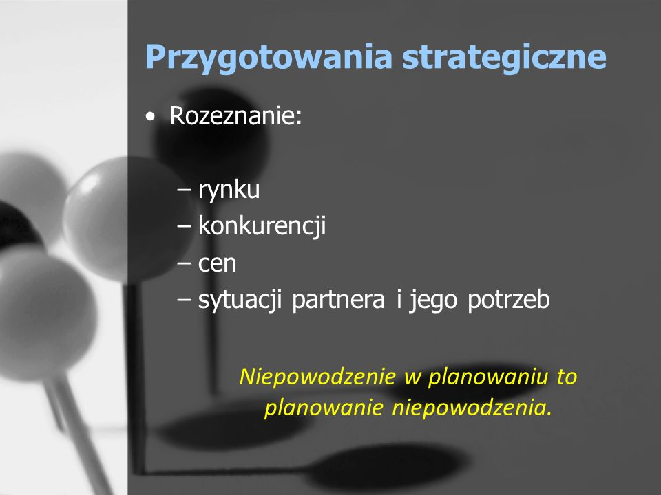 Przygotowania strategiczne