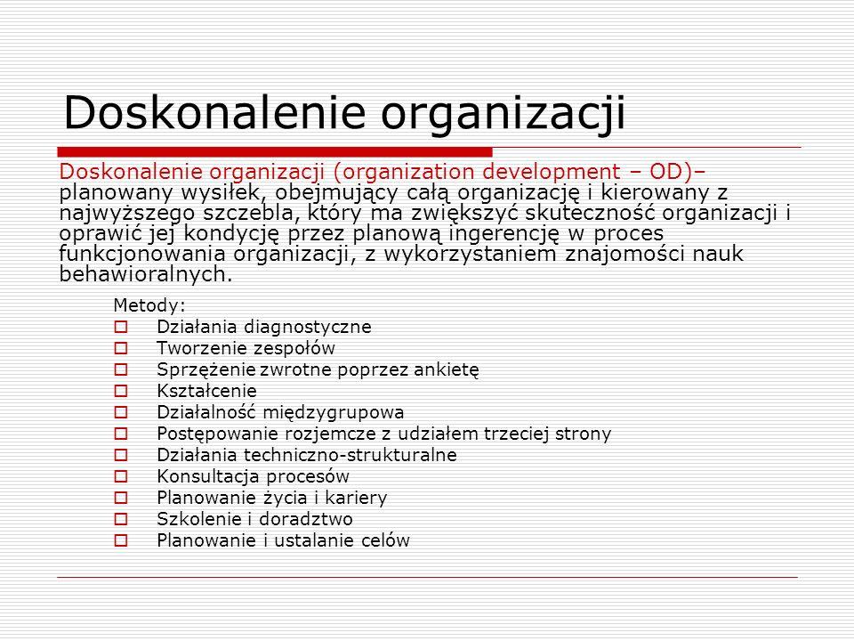 Doskonalenie organizacji