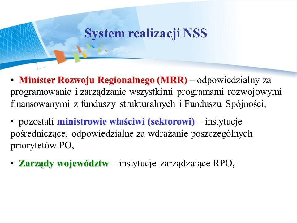 System realizacji NSS