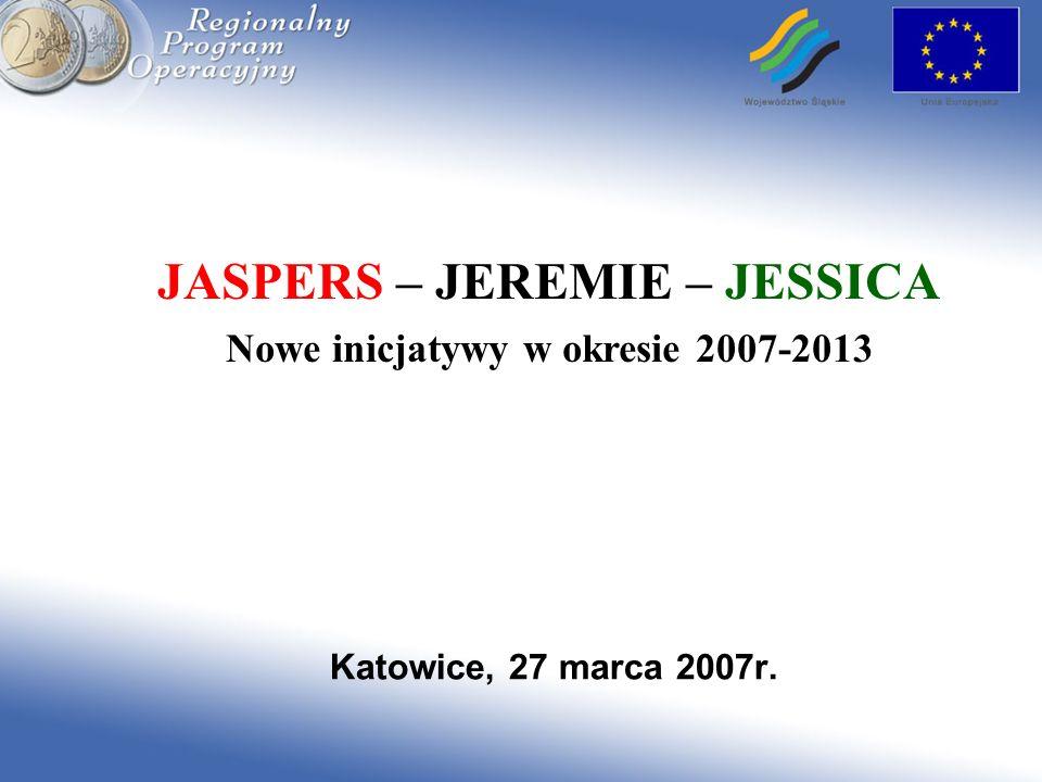 JASPERS – JEREMIE – JESSICA
