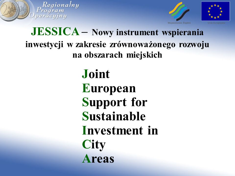 Joint European Support for Sustainable Investment in City Areas