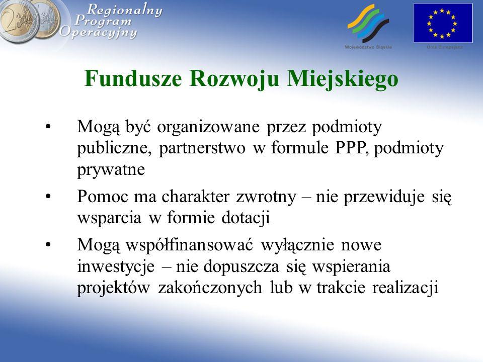 Fundusze Rozwoju Miejskiego