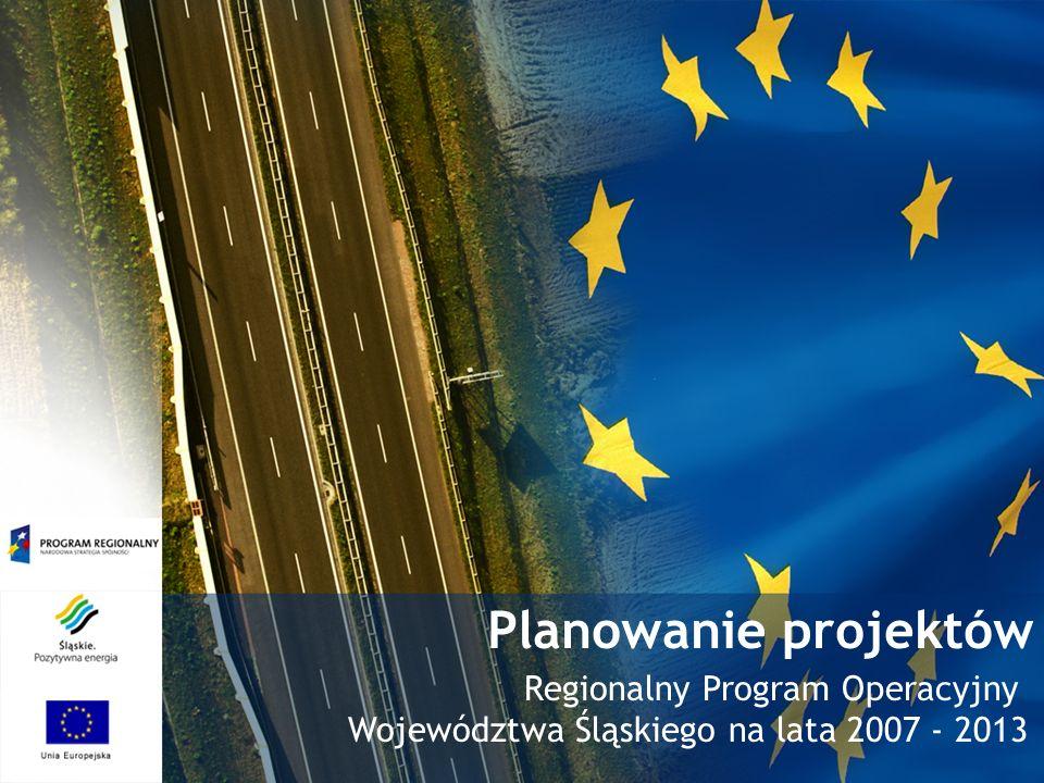 Planowanie projektów Regionalny Program Operacyjny