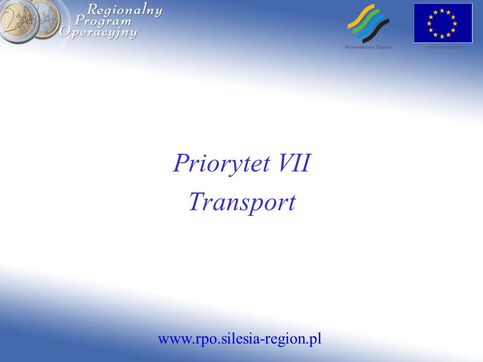 Priorytet VII Transport