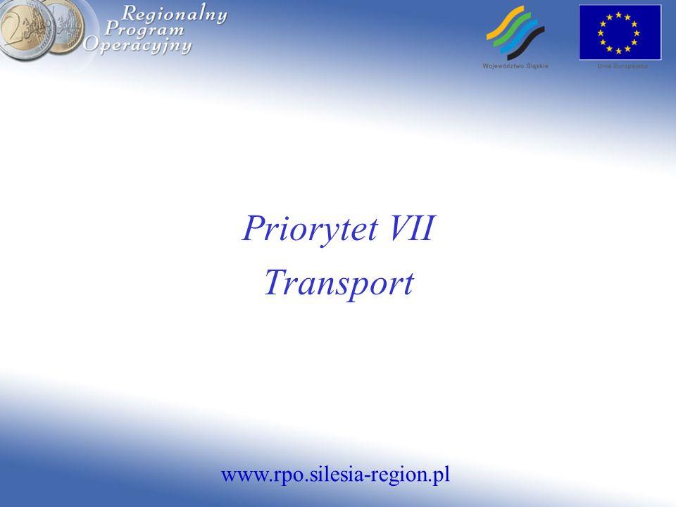 Priorytet VII Transport