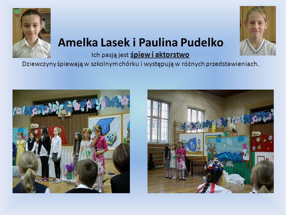Amelka Lasek i Paulina Pudelko