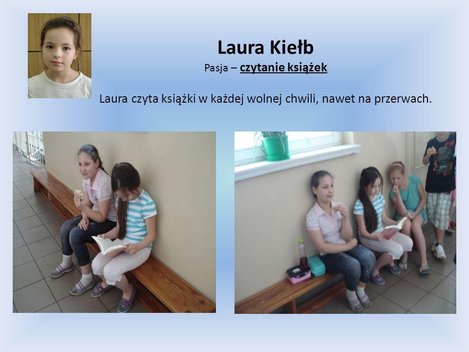 Laura Kiełb Pasja – czytanie książek.