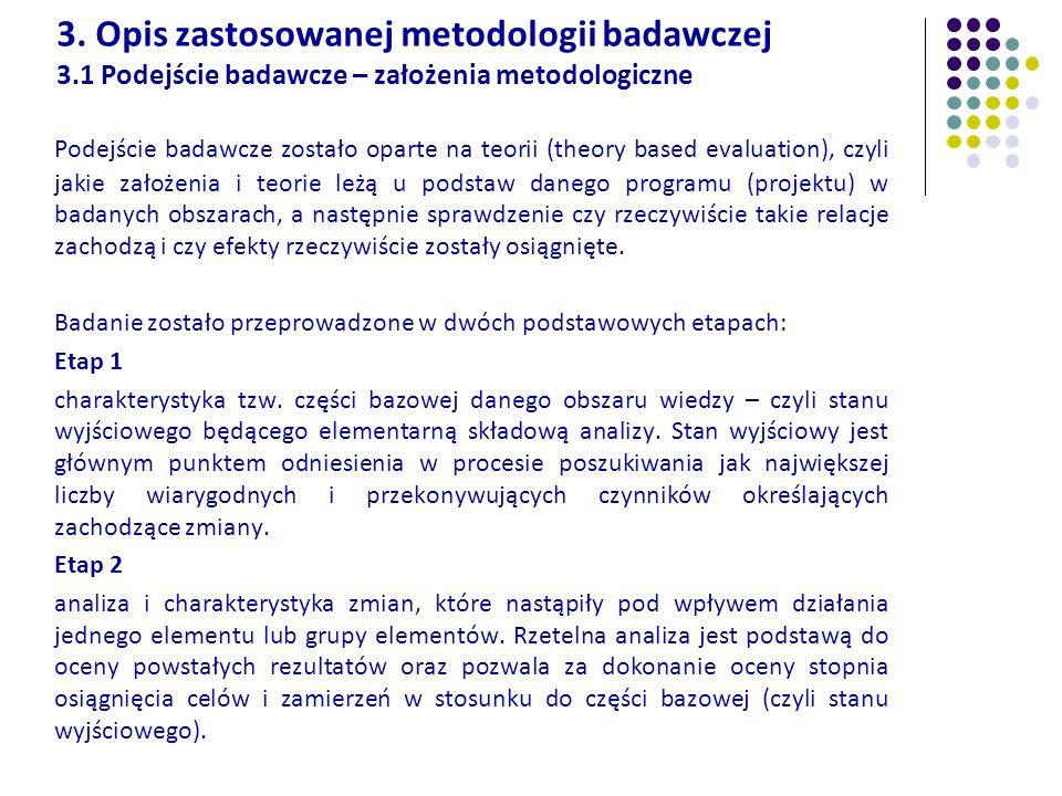 3. Opis zastosowanej metodologii badawczej 3