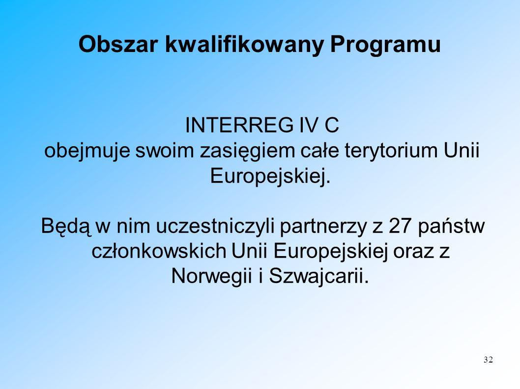 Obszar kwalifikowany Programu