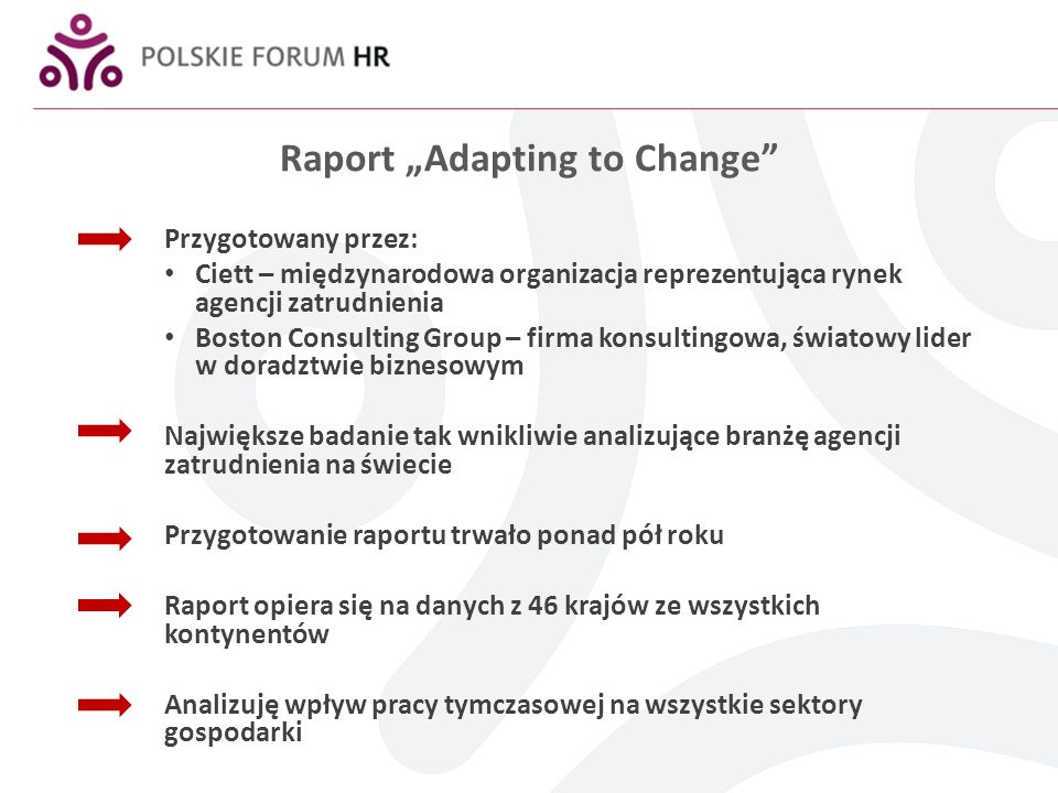 "Raport ""Adapting to Change"