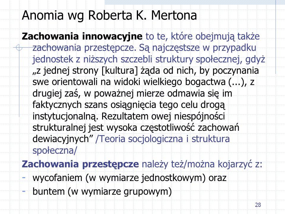 Anomia wg Roberta K. Mertona
