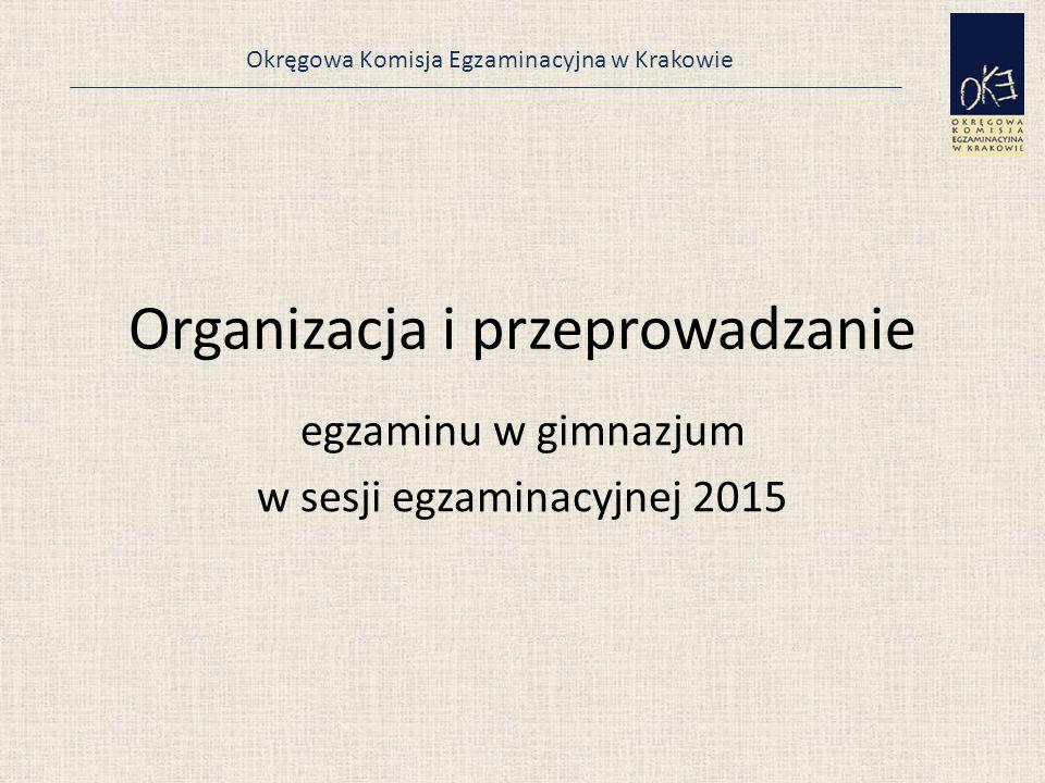 Organizacja i przeprowadzanie