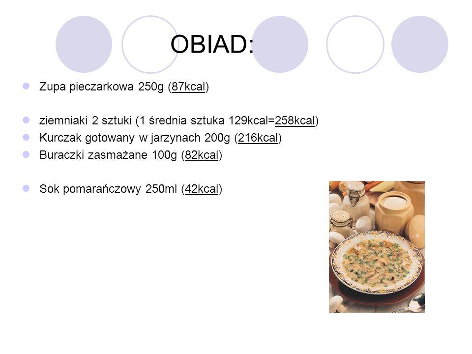 OBIAD: Zupa pieczarkowa 250g (87kcal)